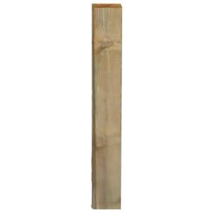 Palo rettangolare per pannelli grigliati legno di pino cm 3.5x9.5x300h