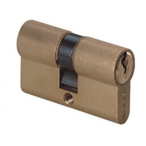 Cilindro sagomato LOGO lunghezza 80 mm con 3 chiavi Art 08010