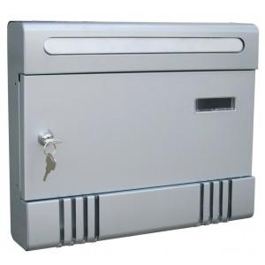 Cassetta postale in lamiera verniciata silver componibile Mod CONDOMINIO