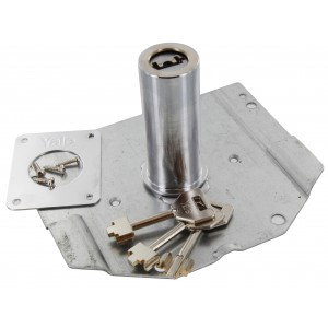 Cilindro a pompa mm 60 NUOVA FEB ricambio per serratura segreta