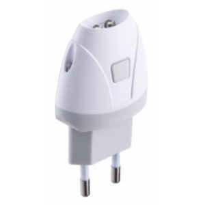 Luce notturna/emergenza ELECTRALINE batteria ricaricabile con interruttore