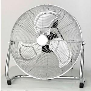 Ventilatore cromato a pavimento CONCORD 90W cm 45 Mod SN-F450