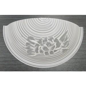 Plafoniera a parete GALILEO applique in vetro 60 W Art 2178895