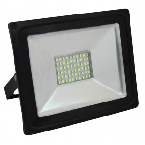 Proiettore LED-SDM PEGASO 100W per esterni completo di staffa