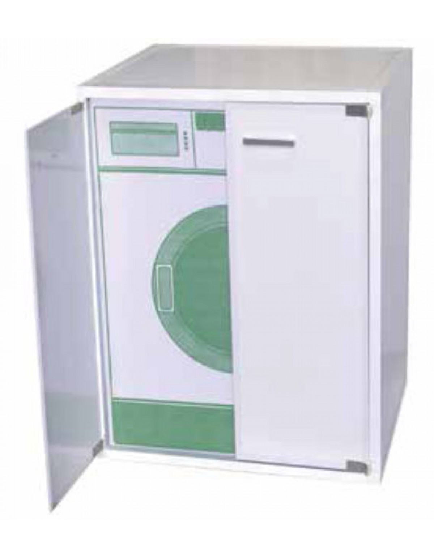 Arredo Bagno Resina kit coprilavatrice in resina adatto anche per esterni cm. 66.5x58x89h -  mobile arredo bagno casa